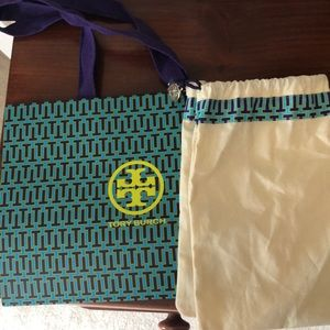 Tory Burch shopping bag and dust bag